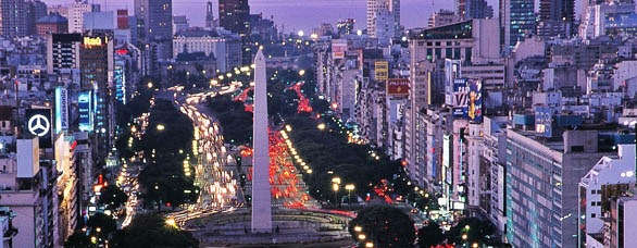 city life in Argentina
