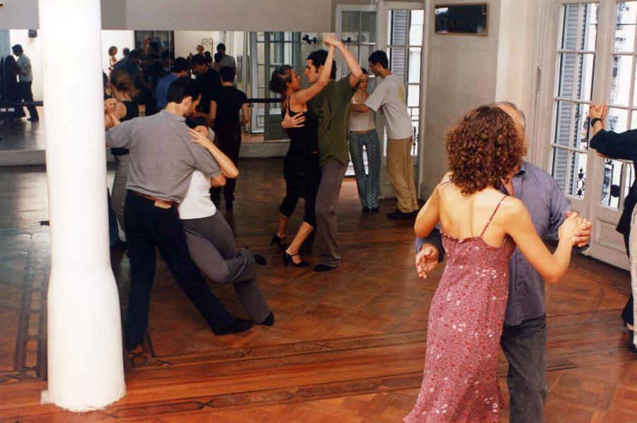 Tango lesson Buenos Aires