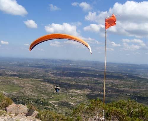 Paragliding in Traslasierra