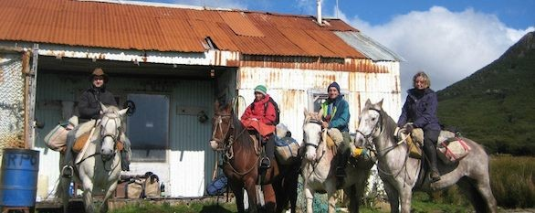 Riding in Tierra del Fuego