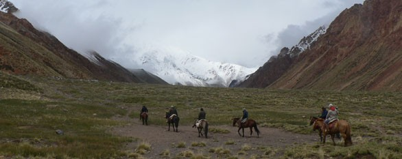 Cross the Andes on horseback