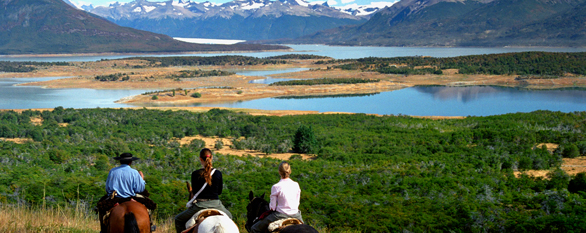 horse riding in patagonia